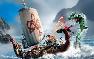 Lego vikings Лего Викинги