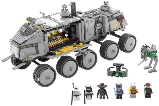Lego 8098 star wars turbo tank klonov lego zvezdnie vojni clone turbo